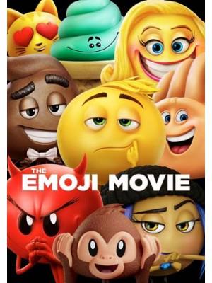 ct1255 : หนังการ์ตูน The Emoji Movie อิโมจิ แอ๊พติสต์ตะลุยโลก DVD 1 แผ่น
