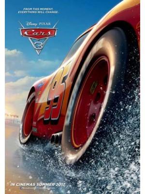 ct1263 : หนังการ์ตูน Cars 3 สี่ล้อซิ่ง ชิงบัลลังก์แชมป์ DVD 1 แผ่น