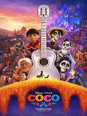 ct1272 : หนังการ์ตูน Coco โคโค่ วันอลวน วิญญาณอลเวง DVD 1 แผ่น