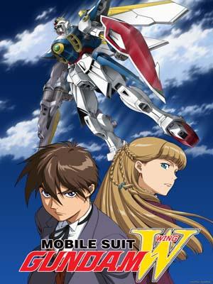 ct1273 : การ์ตูน Mobile Suit Gundam Wing DVD 4 แผ่น
