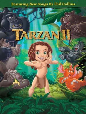 ct1281 : หนังการ์ตูน Tarzan II (2005) DVD 1 แผ่น