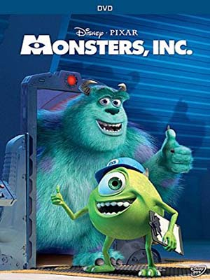 ct1282 : หนังการ์ตูน Monsters, Inc. บริษัท รับจ้างหลอน (ไม่) จำกัด (2001) DVD 1 แผ่น