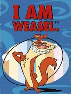ct1284 : หนังการ์ตูน I Am Weasel Season 1 ข้าคือวีเซิล ภาค 1 DVD 1 แผ่น