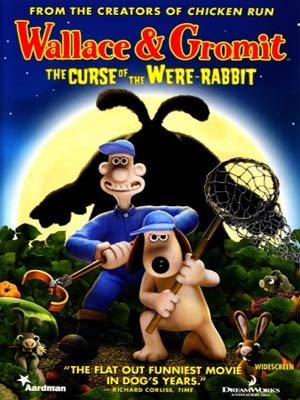 ct1286 : หนังการ์ตูน Wallace And Gromit The Curse of the Were-Rabbit (2005) DVD 1 แผ่น