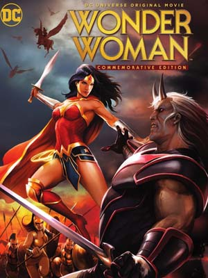 ct1292 : หนังการ์ตูน Wonder Woman: Commemorative Edition / วันเดอร์ วูแมน: ฉบับย้อนรำลึกสาวน้อยมหัศจรรย์ DVD 1 แผ่น