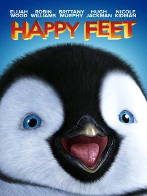 ct1317 : หนังการ์ตูน Happy Feet เพนกวินกลมปุ๊กลุกขึ้นมาเต้น (ซับไทย) DVD 1 แผ่น