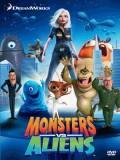 ct1319 : หนังการ์ตูน Monsters vs. Aliens มอนสเตอร์ ปะทะ เอเลี่ยน (2009) DVD 1 แผ่น