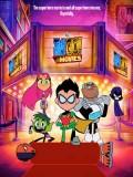 ct1324 : หนังการ์ตูน Teen Titans Go! To the Movies ทีน ไททันส์ โก ฮีโร่วัยเกรียน DVD 1 แผ่น