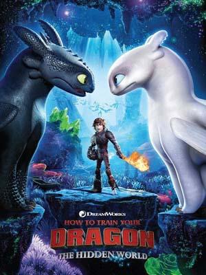 ct1329 : How to Train Your Dragon 3: The Hidden World อภินิหารไวกิ้งพิชิตมังกร 3 DVD 1 แผ่น