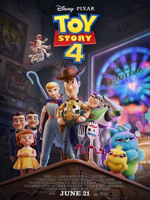 ct1337 : หนังการ์ตูน Toy Story 4 ทอย สตอรี่ 4 (2019) DVD 1 แผ่น