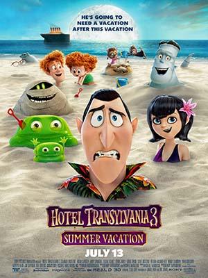 ct1351 : หนังการ์ตูน Hotel Transylvania 3: Summer Vacation โรงแรมผีหนี ไปพักร้อน 3: ซัมเมอร์หฤหรรษ์ DVD 1 แผ่น