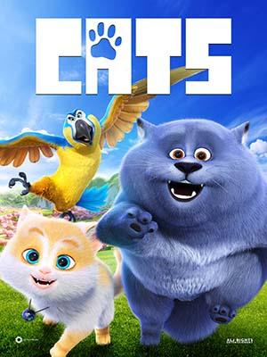 ct1361 : หนังการ์ตูน Cats ก๊วนเหมียวหง่าว (2018) DVD 1 แผ่น