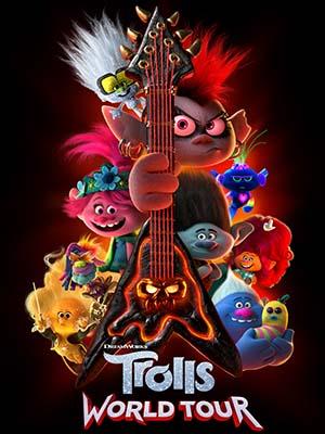 ct1365 : หนังการ์ตูน Trolls World Tour โทรลล์ส เวิลด์ ทัวร์ (2020) DVD 1 แผ่น