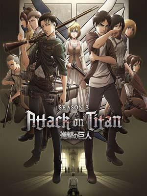 ct1374 : การ์ตูน Attack on Titan Season 3 ผ่าพิภพไททัน ซีซั่น 3 [ซับไทย] DVD 4 แผ่น