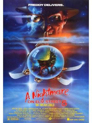 EE2513 : A Nightmare on Elm Street 5: The Dream Child นิ้วเขมือบ ภาค 5 (1989) DVD 1 แผ่น
