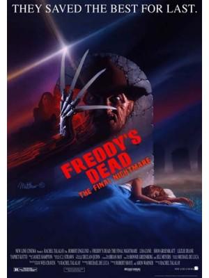 EE2514 : A Nightmare on Elm Street 6: Freddy s Dead นิ้วเขมือบ ภาค 6 (1991) DVD 1 แผ่น