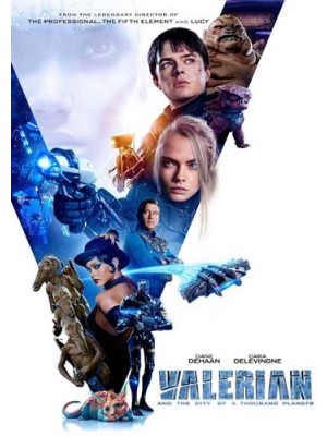 EE2517 : Valerian and the City of a Thousand Planets วาเลเรียน พลิกจักรวาล DVD 1 แผ่น