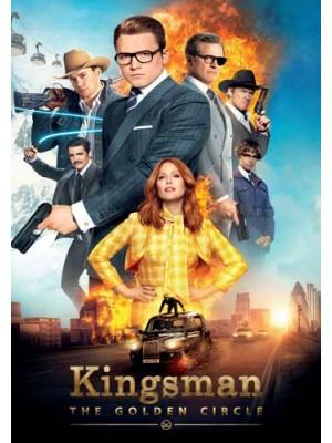 EE2523 : Kingsman: The Golden Circle คิงส์แมน รวมพลังโคตรพยัคฆ์ DVD 1 แผ่น