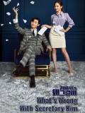 krr1657 : ซีรีย์เกาหลี What s Wrong with Secretary Kim (ซับไทย) DVD 4 แผ่น