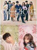 krr1676 : ซีรีย์เกาหลี Familiar Wife (ซับไทย) DVD 4 แผ่น