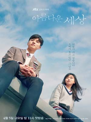 krr1786 : ซีรีย์เกาหลี Beautiful World (ซับไทย) DVD 4 แผ่น