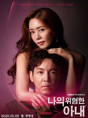 krr1961 : ซีรีย์เกาหลี My Dangerous Wife (2020) (ซับไทย) DVD 4 แผ่น