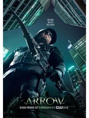 se1643 : ซีรีย์ฝรั่ง Arrow Season 5 (ซับไทย) 5 แผ่น