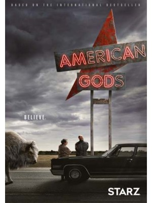 se1672 : ซีรีย์ฝรั่ง American Gods Season 1 [ซับไทย] DVD 2 แผ่น