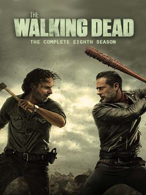 se1720 : ซีรีย์ฝรั่ง The Walking Dead Season 8 (พากย์ไทย) DVD 4 แผ่น