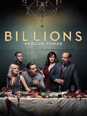 se1861 : ซีรีย์ฝรั่ง Billions Season 3 บิลเลียนส์ ซีซั่น 3 [พากย์ไทย] DVD 3 แผ่น
