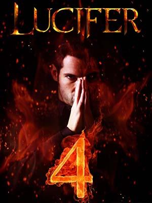 se1863 : ซีรีย์ฝรั่ง Lucifer Season 4 (ซับไทย) DVD 3 แผ่น