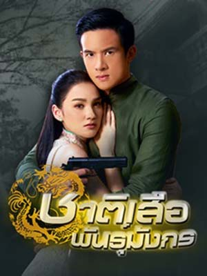 st1649 : ละครไทย ชาติเสือพันธุ์มังกร DVD 4 แผ่น
