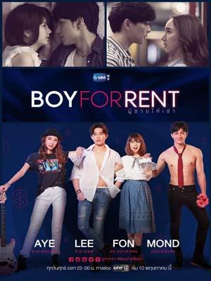 st1747 : ละครไทย ผู้ชายให้เช่า Boy For Rent DVD 3 แผ่น
