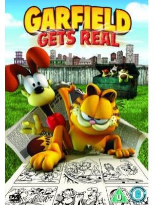 am0144 : การ์ตูน Garfield Get Real การ์ฟีลด์ทะลุมิติป่วนเมือง DVD 1 แผ่น