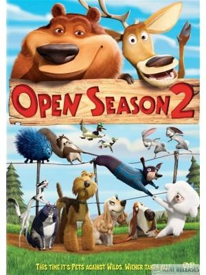 am0143 :หนังการ์ตูน Open Season 2  คู่ซ่าส์ ป่าระเบิด 2  DVD Master 1 แผ่นจบ