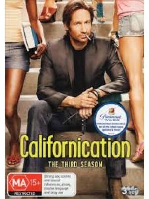 se0707: ซีรี่ย์ฝรั่ง Californication 3 /นายนักเขียน เซียนใต้สะดือ ปี 3 (เสียงอังกฤษ+ซับไทย) 3 แผ่นจบ