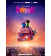 ct1099 : หนังการ์ตูน Home: โฮม (2015) DVD 1 แผ่น