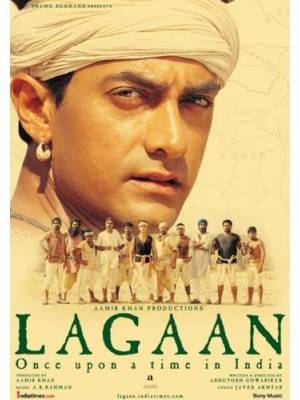 AD022 : LAGAAN: Once Upon a Time In INDIA DVD 1 แผ่น