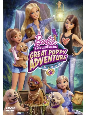 ct1124 : หนังการ์ตูน Barbie And Her Sisters in The Great Puppy Adventure DVD 1 แผ่น