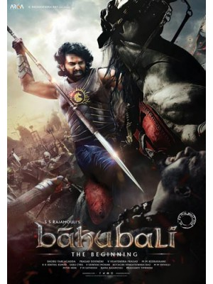 AD032 : หนังอินเดีย Bahubali The Beginning เปิดตำนานบาฮูบาลี ภาค 1 DVD 1 แผ่น