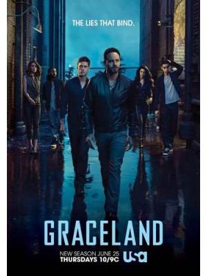 se1468 : ซีรีย์ฝรั่ง Graceland Season 3 [ซับไทย] 3 แผ่น