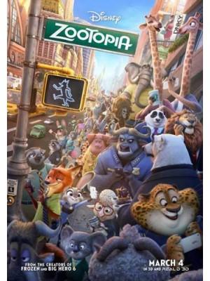 ct1173 : หนังการ์ตูน Zootopia นครสัตว์มหาสนุก MASTER 1 แผ่น