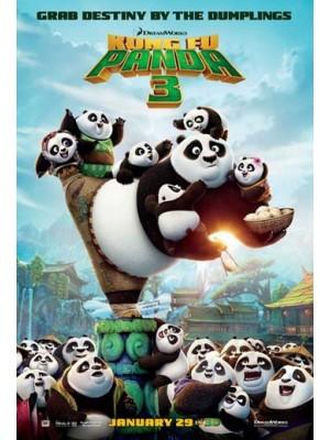 ct1176 : หนังการ์ตูน Kung fu Panda 3 / กังฟูแพนด้า 3 MASTER 1 แผ่น