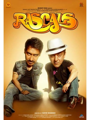 AD043 : หนังอินเดีย Rascals / คู่แสบ 18 มงกุฎ DVD 1 แผ่น
