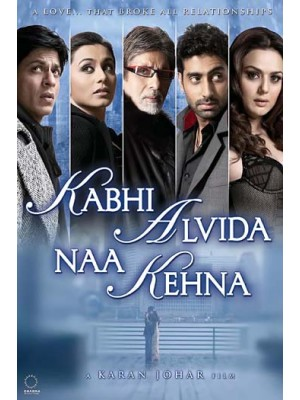 AD045 : หนังอินเดีย Kabhi Alvida Naa Kehna ฝากรักสุดฟากฟ้า DVD 1 แผ่น
