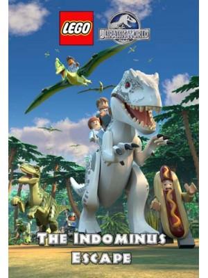 ct1209 : หนังการ์ตูน Lego Jurassic World: The Indominus Escape DVD 1 แผ่น