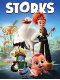 ct1225 : หนังการ์ตูน Storks บริการนกกระสาเบบี๋เดลิเวอรี่ DVD 1 แผ่น