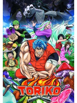 ct1228 : การ์ตูน Toriko Season 1 DVD 4 แผ่น
