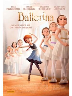 ct1245 : หนังการ์ตูน Ballerina สาวน้อยเขย่งฝัน DVD 1 แผ่น