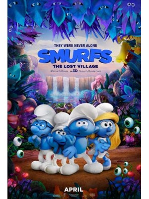 ct1246 : หนังการ์ตูน Smurfs: The Lost Village สเมิร์ฟ หมู่บ้านที่สาบสูญ DVD 1 แผ่น